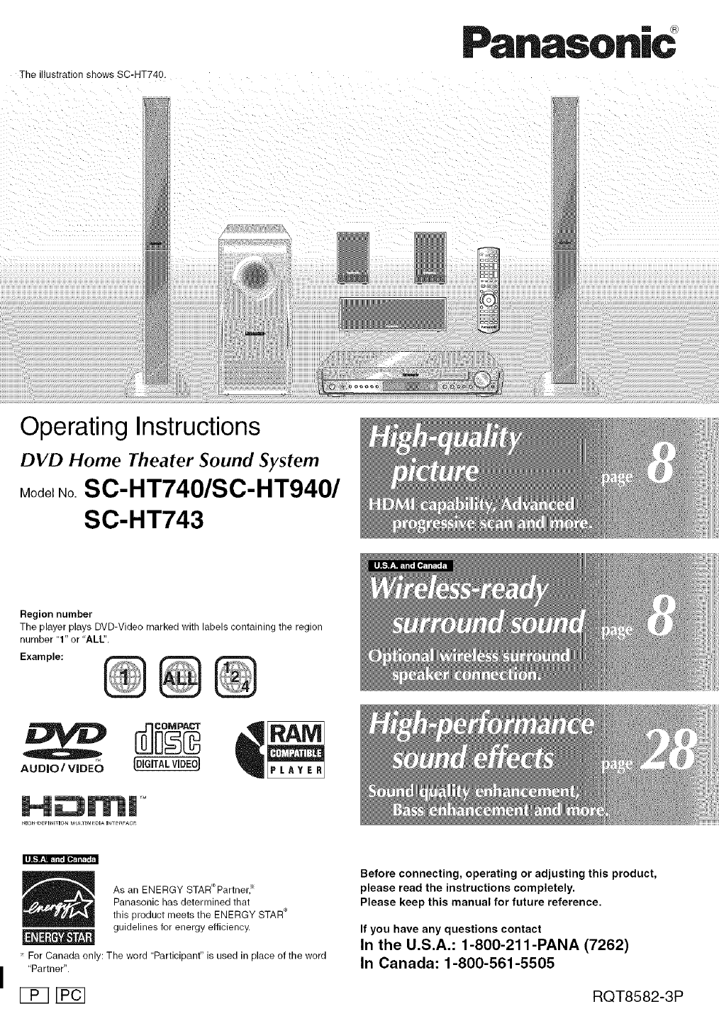 panasonic home theater system sc ht940 user guide manualsonline com rh audio manualsonline com panasonic theater system manual n2qayb panasonic theater system manual n2qayb
