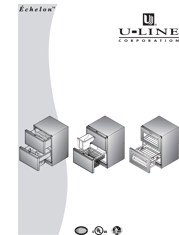 U Line Refrigerator 2075dwrr User Guide Manualsonline Com
