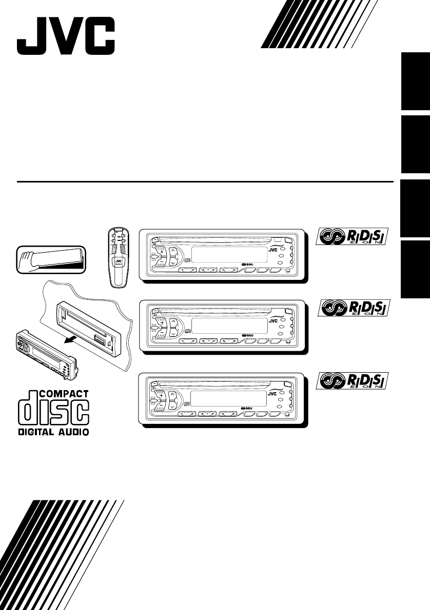 Jvc Stereo Receiver Kd S737r User Guide Manualsonlinecom Kw Wiring Diagram