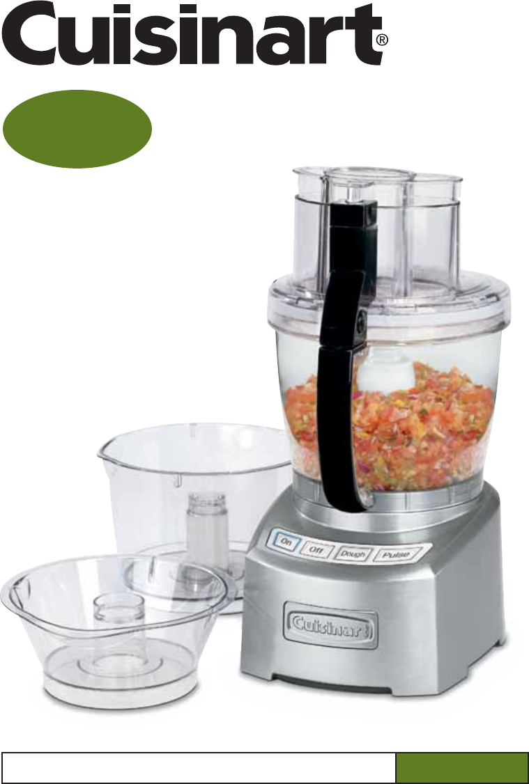 Cuisinart Sm Fp Food Processor Mixer Manual