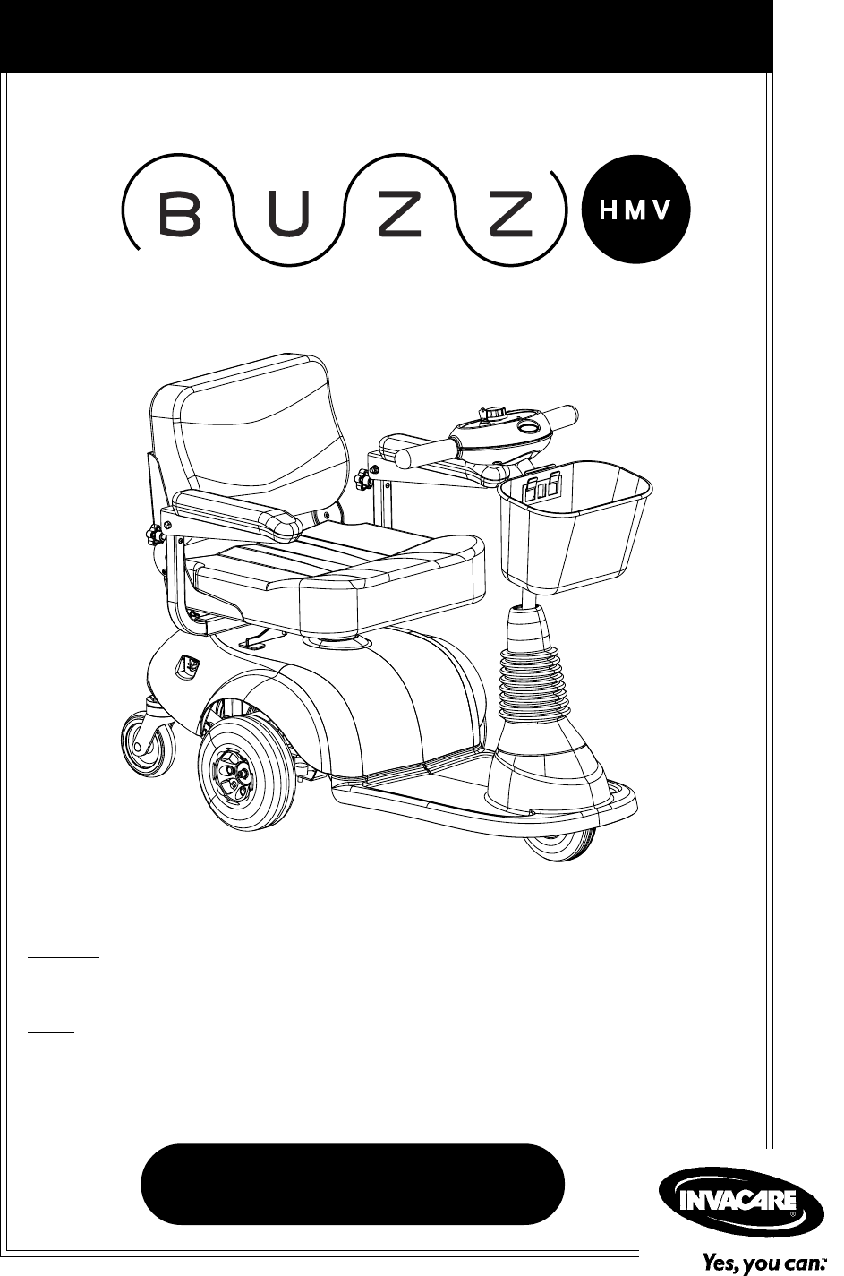 invacare orion mobility scooter manual