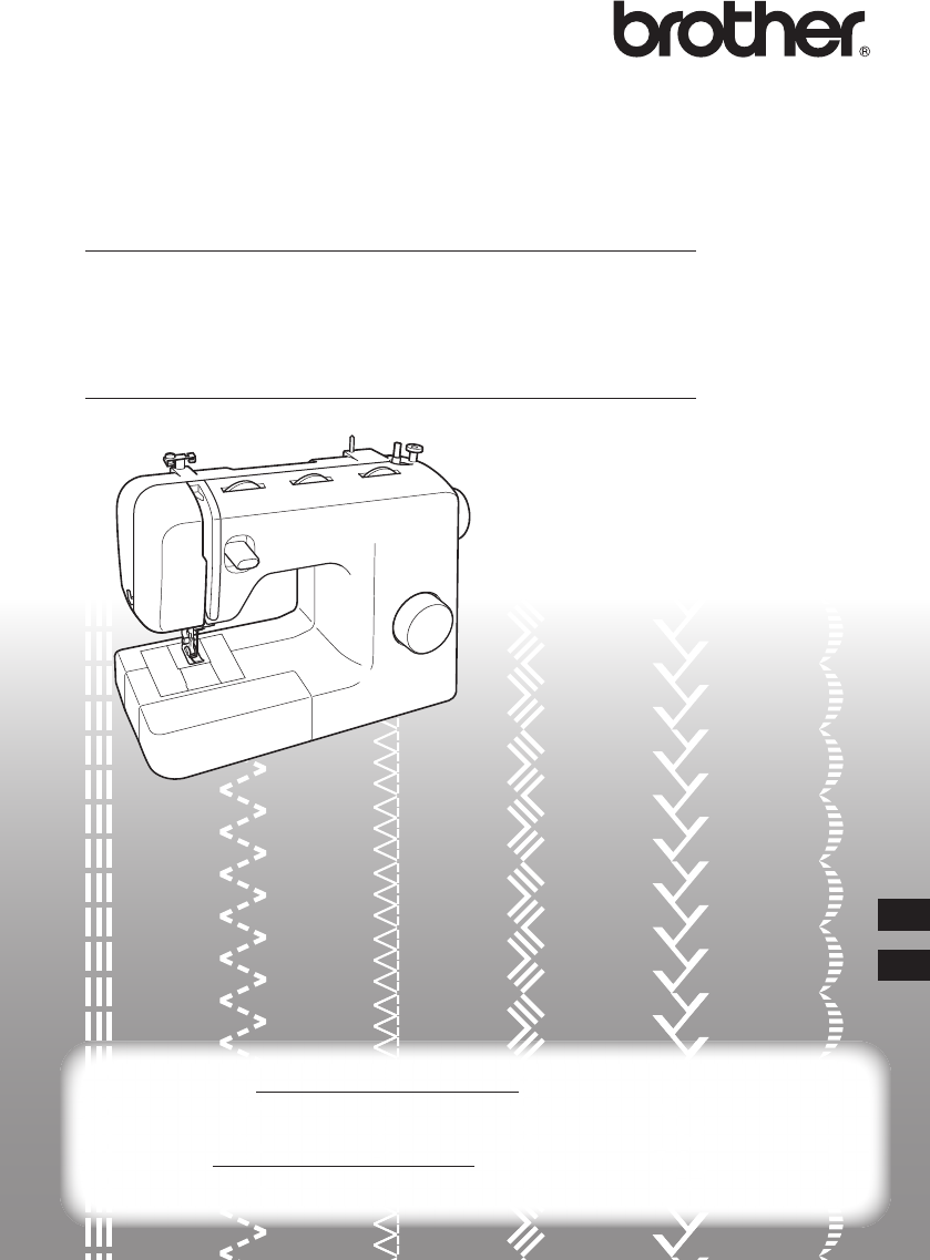 brother sewing machine user manual