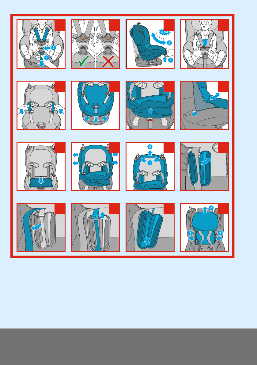 Dorel Car Seat Strap Instructions