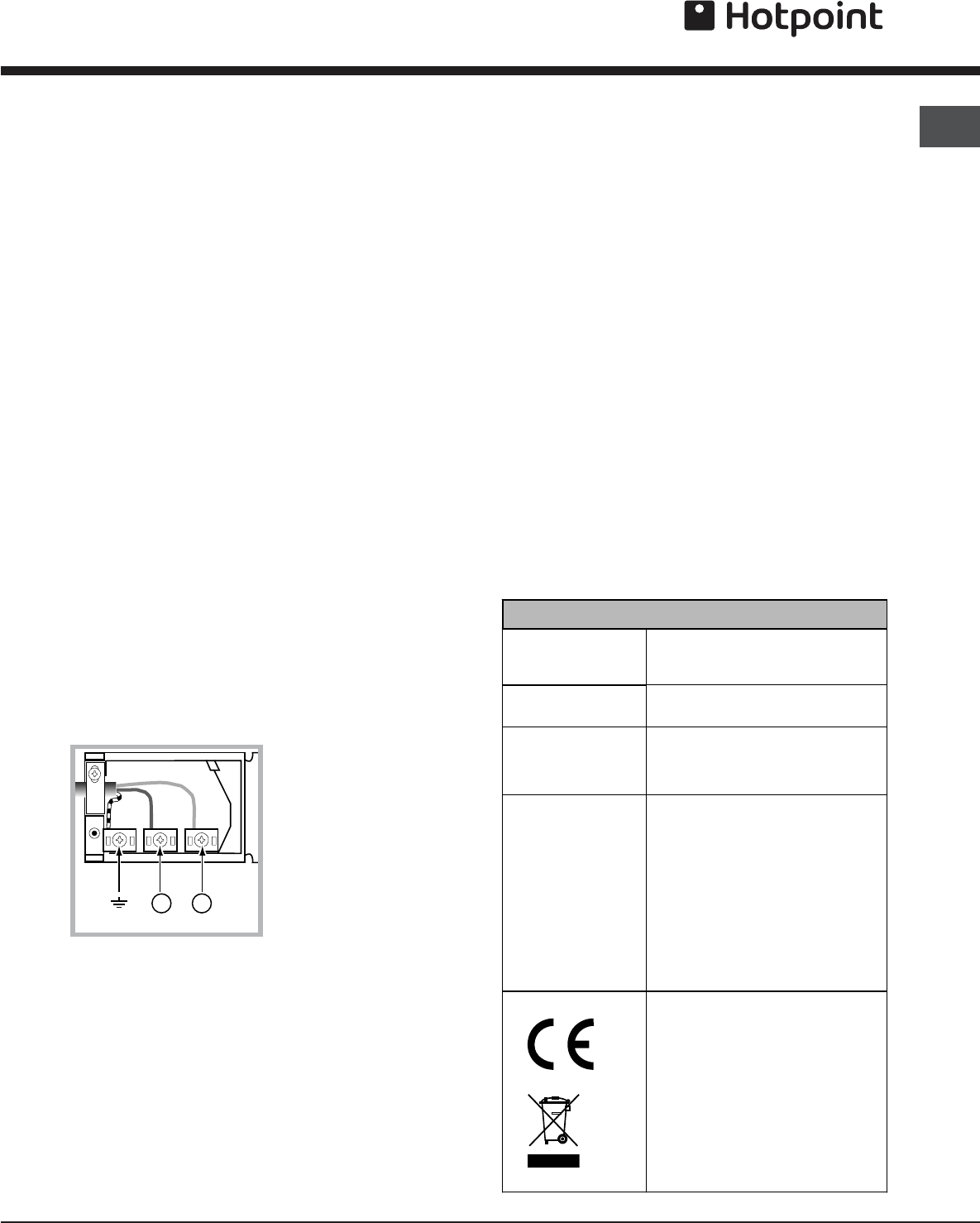 page 3 of hotpoint oven sy10x 1 user guide manualsonline com rh kitchen manualsonline com
