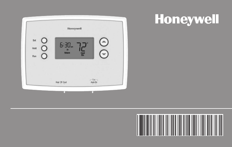 Honeywell thermostat rth2410b1001e1 user guide manualsonline asfbconference2016 Choice Image