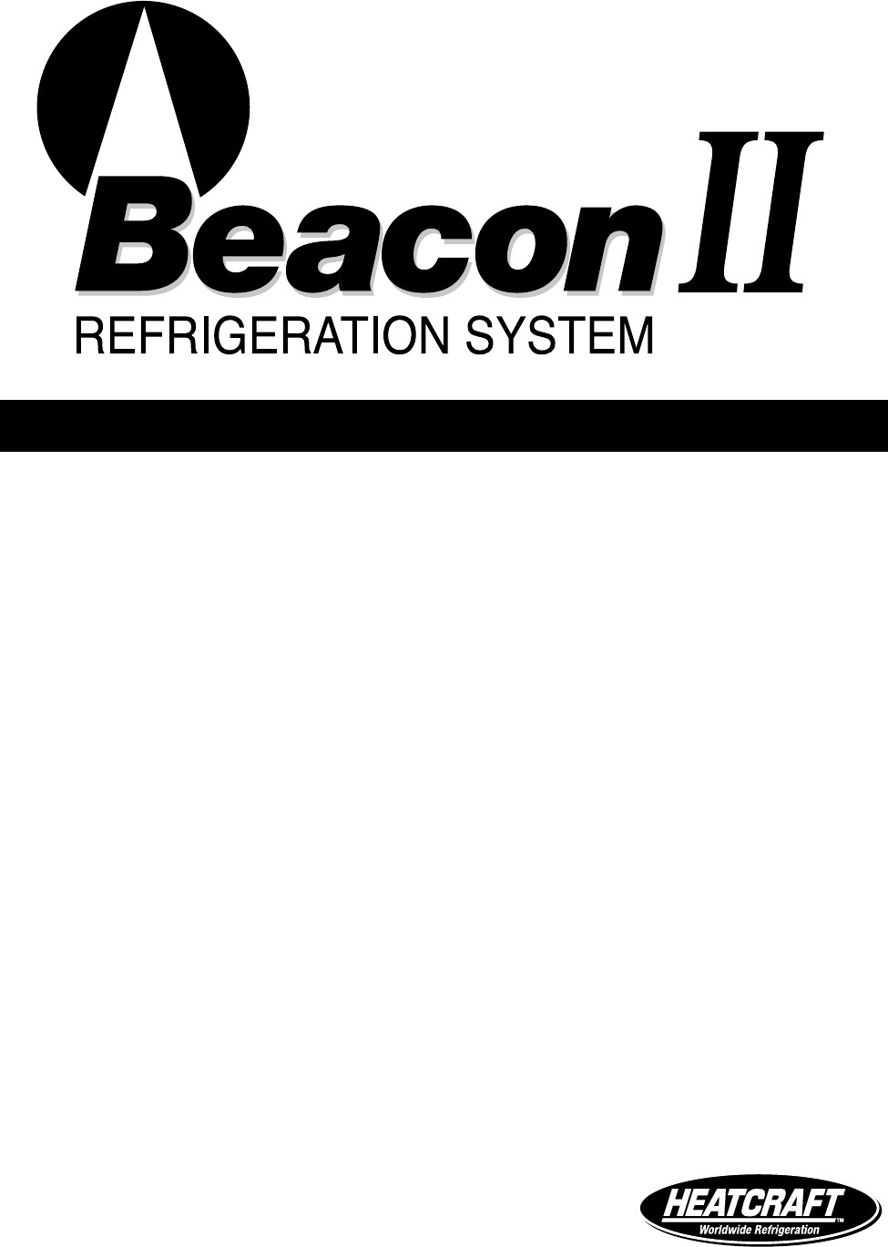 Heatcraft Refrigeration Products Refrigerator H