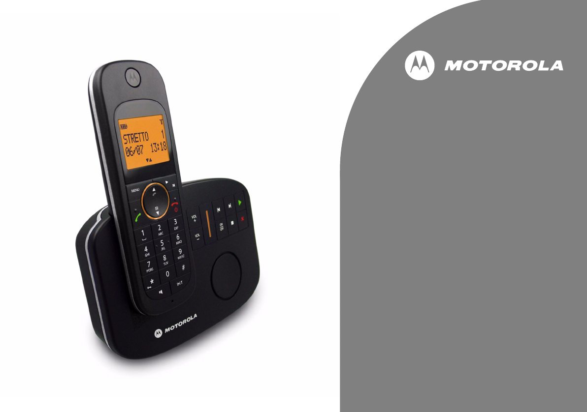 motorola c601 cordless phone manual