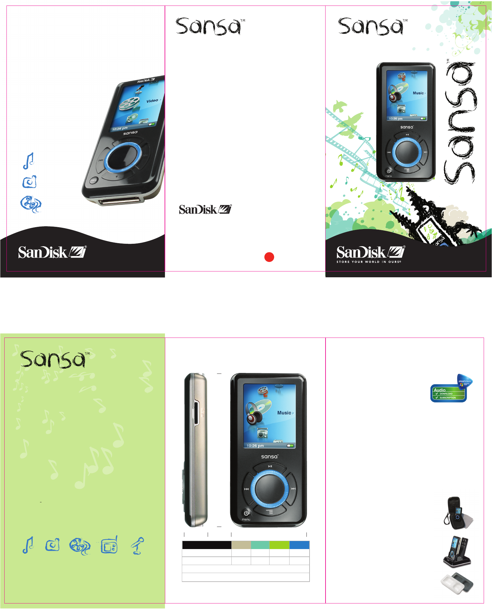 sandisk mp3 player e250 user guide manualsonline com rh portablemedia manualsonline com sansa e250 user manual sansa e250r manual
