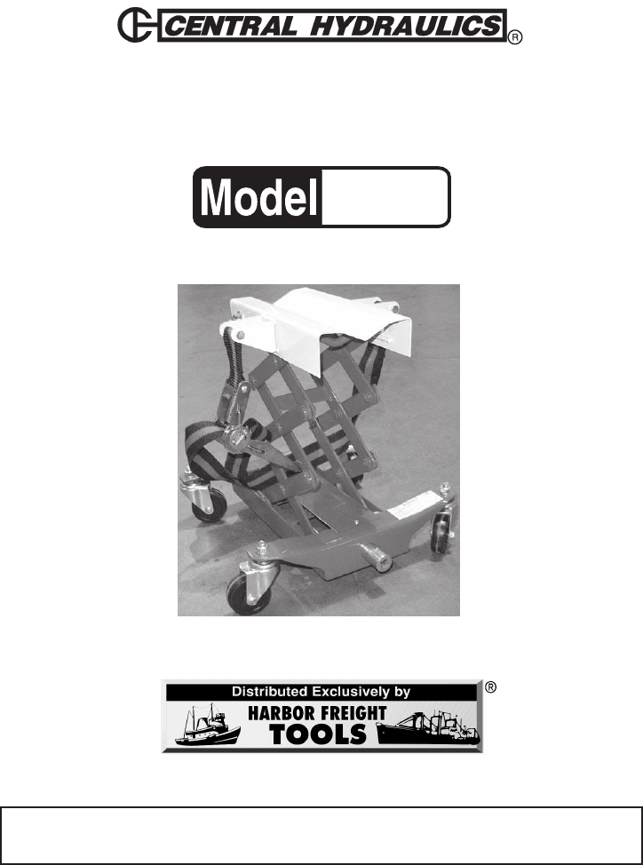 harbor freight tools mobility aid 39178 user guide