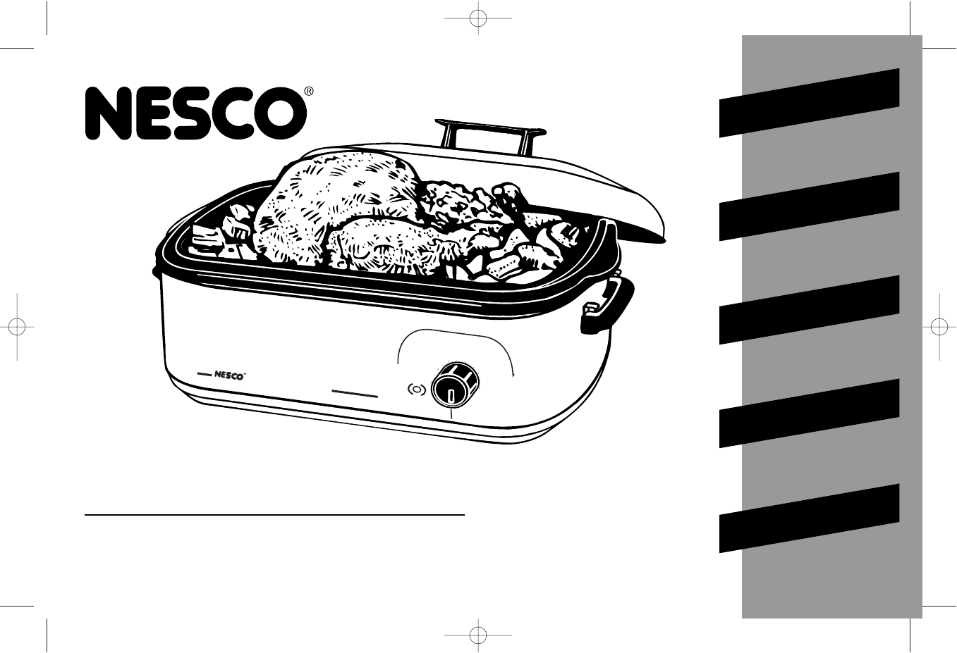 nesco oven 18 qt roaster oven user guide manualsonline com rh kitchen manualsonline com nesco roaster oven recipes nesco roaster oven recipes for turkey