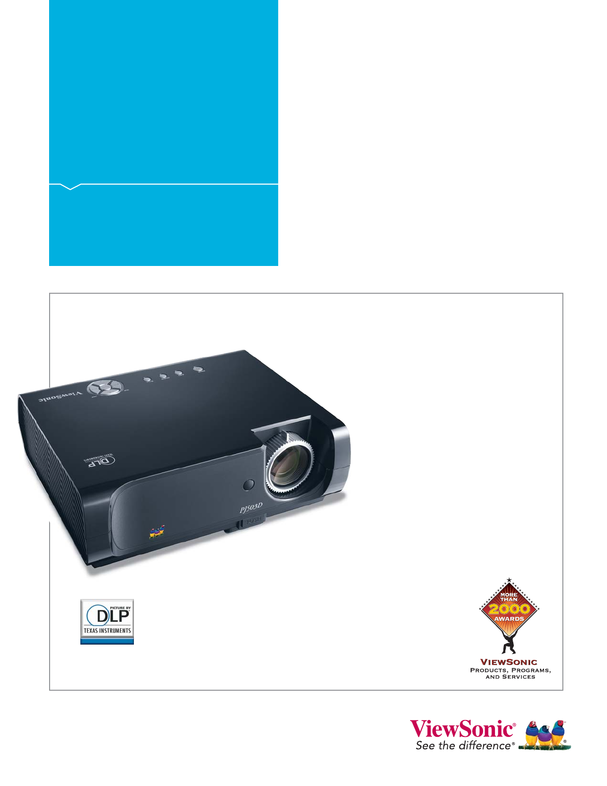 viewsonic projector pj503d user guide manualsonline com rh office manualsonline com Viewsonic Projector PJD5123 Viewsonic Projector PJD5123