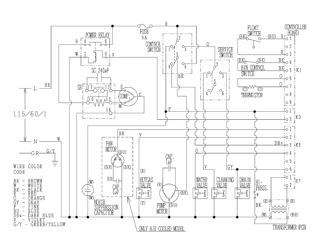 ice machine wiring diagram wiring diagram for ice maker the wiring diagram wiring diagram for icemaker schematics and wiring diagrams