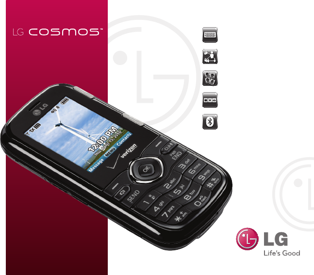 lg electronics cell phone cosmos user guide manualsonline com rh cellphone manualsonline com Cosmo Phone Verizon LG Cosmos Slide Phone Battery Removal
