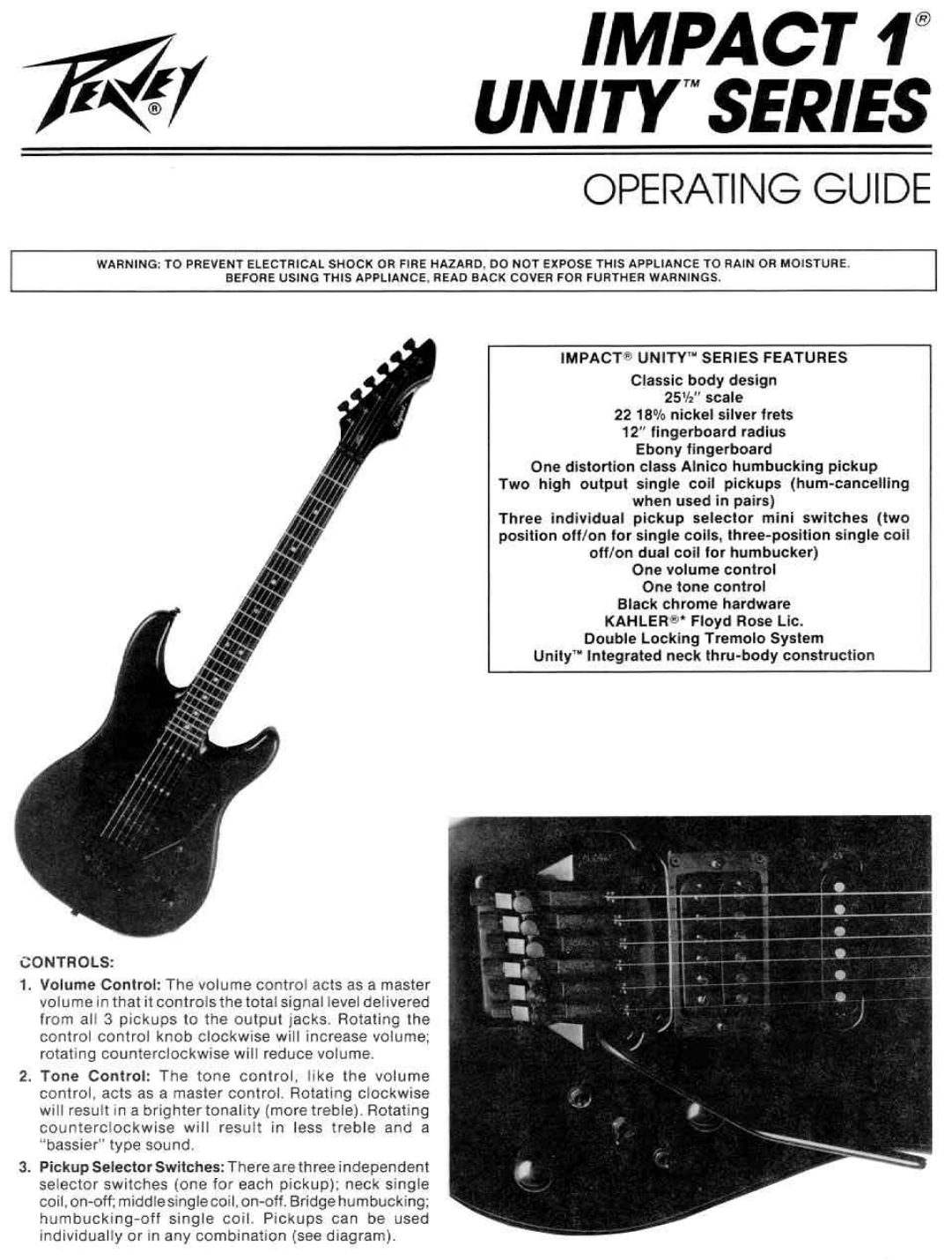Peavey Guitar Wiring Diagram - Wiring Diagram