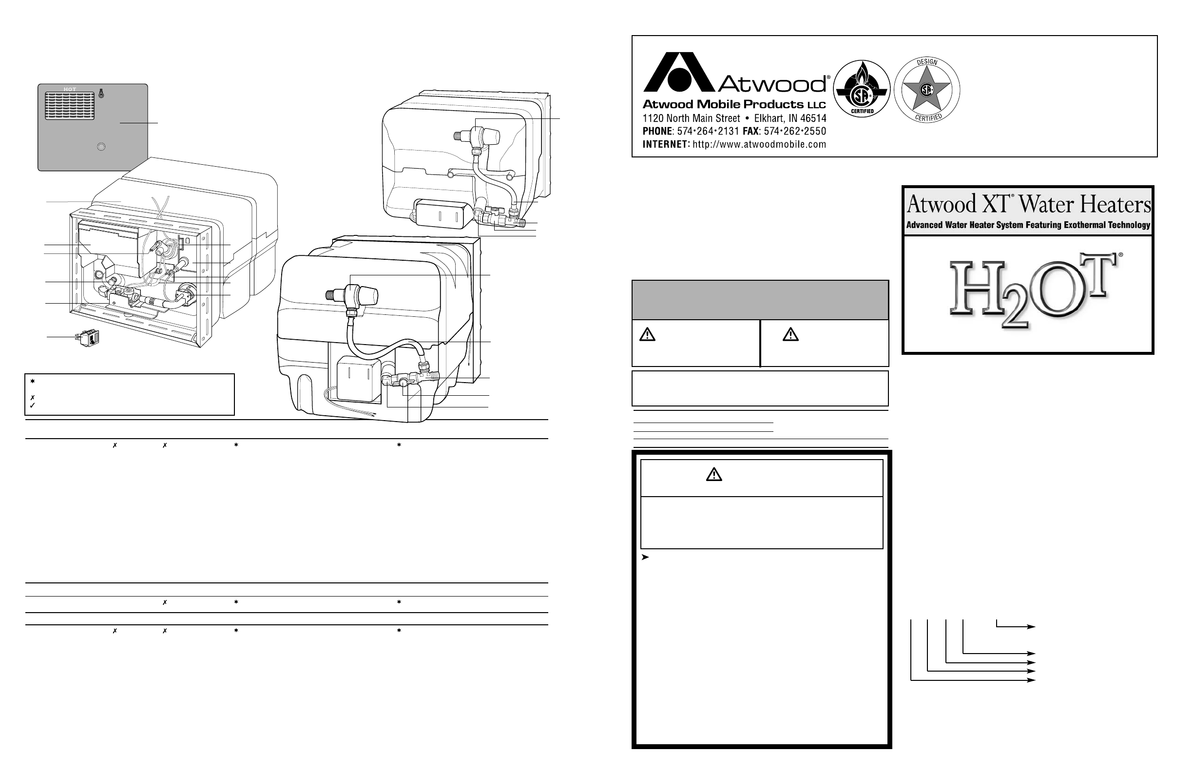 Page 8 Of Atwood Mobile Products Water Heater Ge16ext User Manual Guide