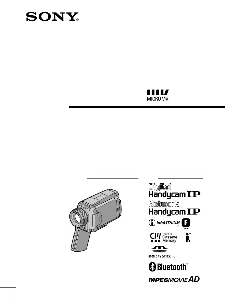 sony 450x digital 8 camcorder manual