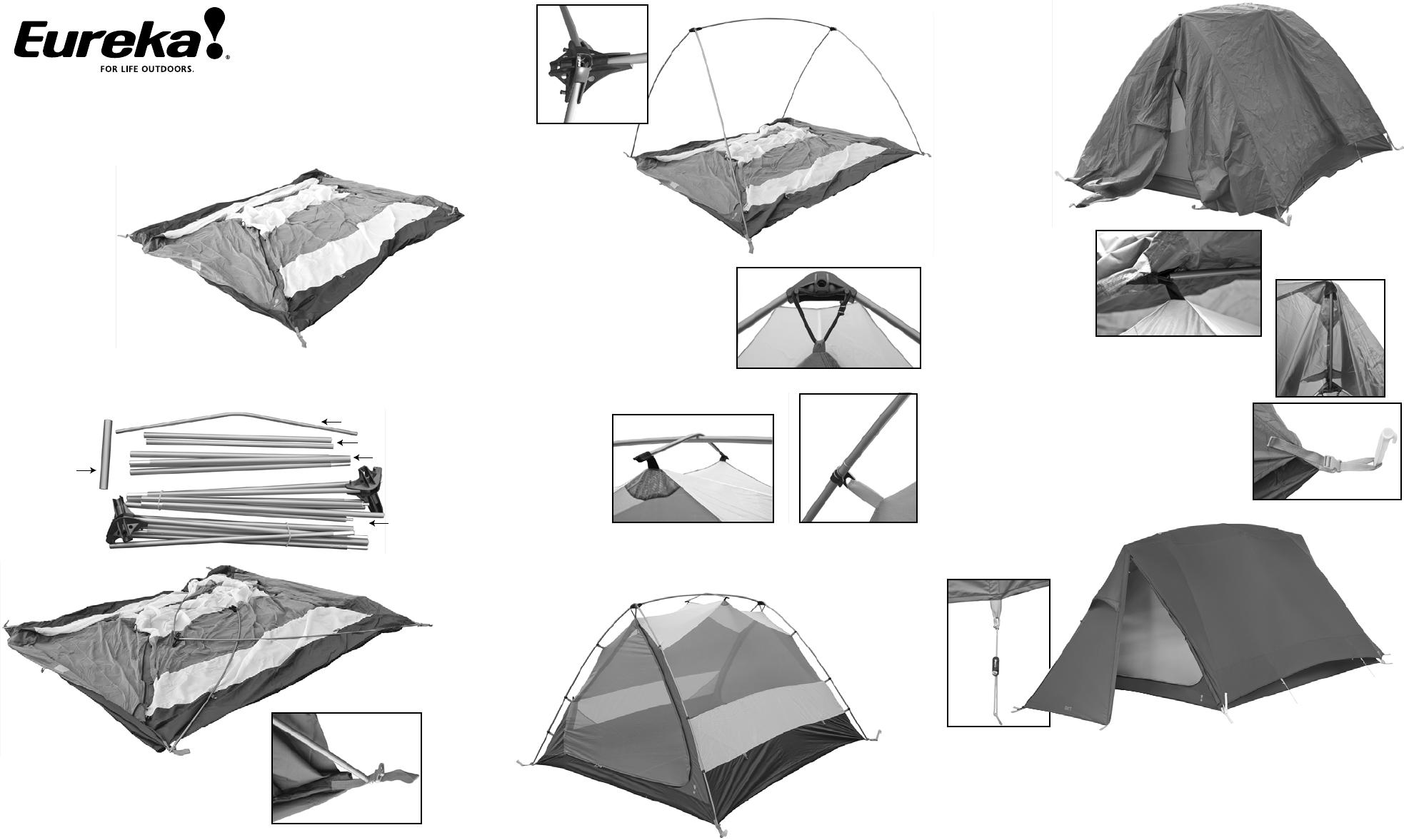 Eureka! Tents Timberline SQ XT Tent User Manual  sc 1 st  Camera Manuals - ManualsOnline.com & Eureka! Tents Tent Timberline SQ XT User Guide | ManualsOnline.com
