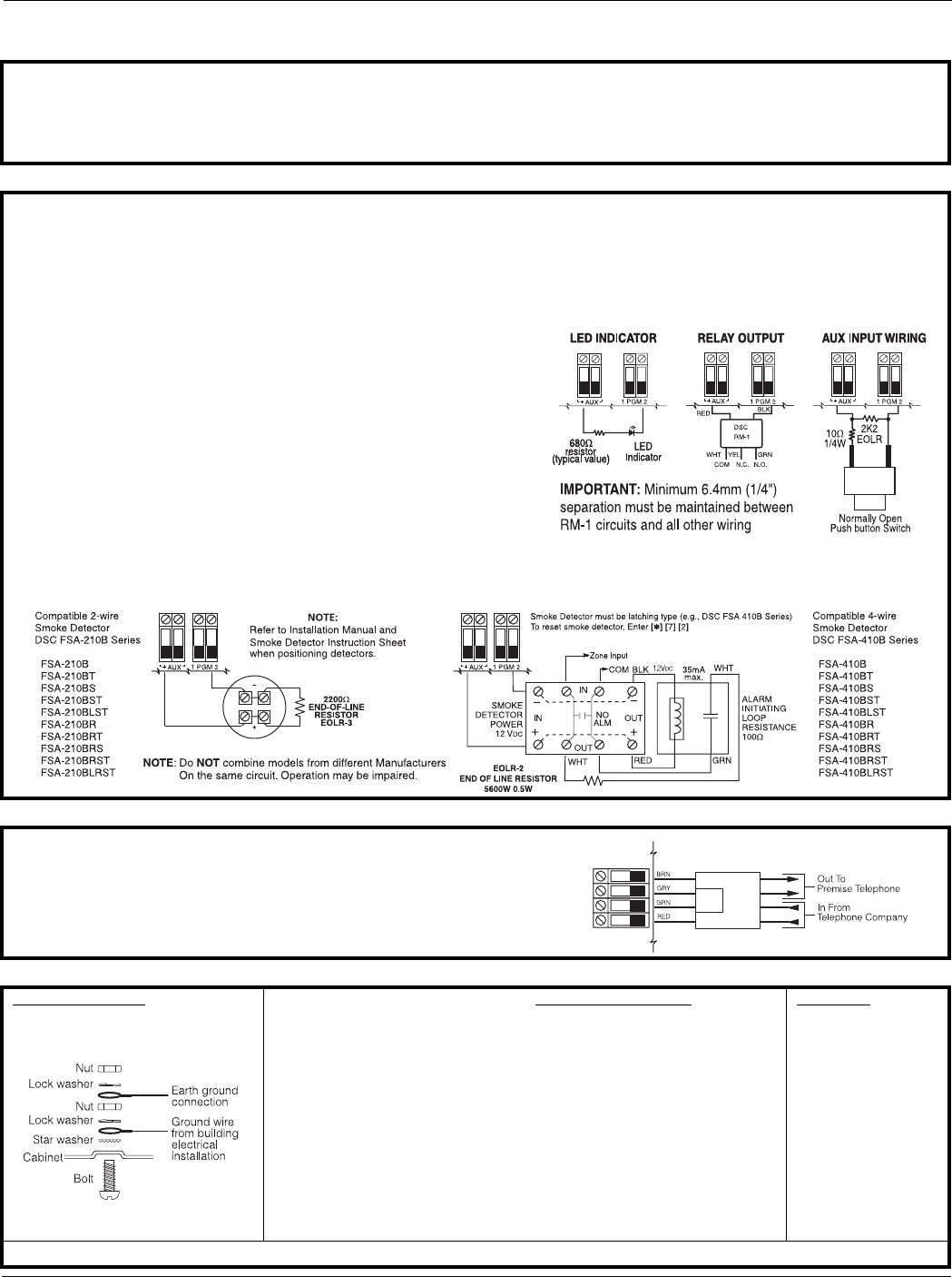 Page 6 Of Dsc Home Security System Pc1616 User Guide
