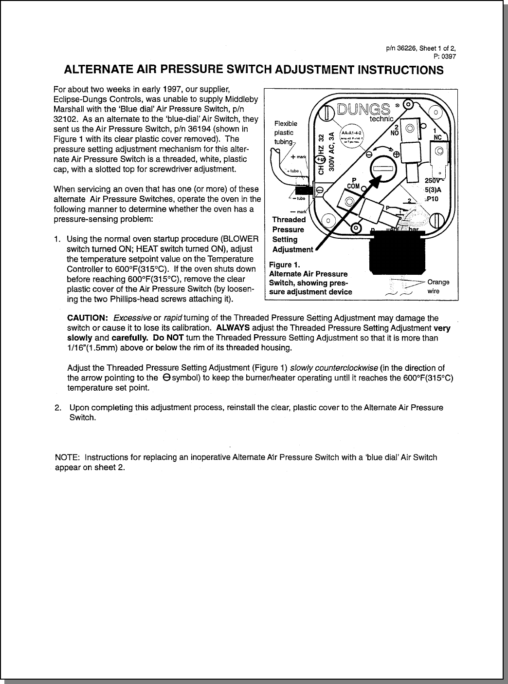Page 86 of Middleby Marshall Microwave Oven PS224 PS310 User Guide ...