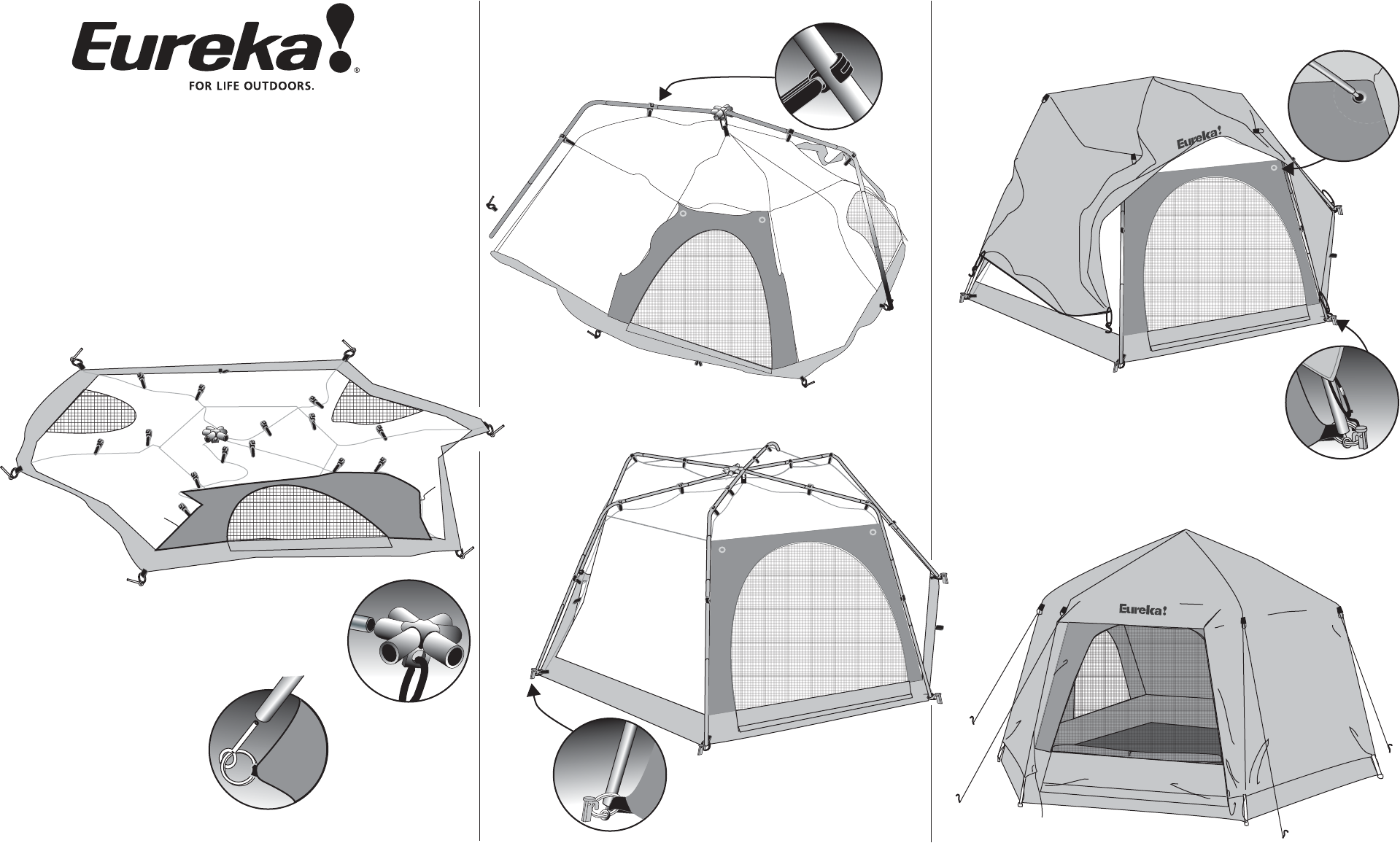 Tents Equinox 6 Tent User Manual  sc 1 st  Fitness Equipment Manuals - ManualsOnline.com & Eureka! Tents Tent Equinox 6 User Guide | ManualsOnline.com