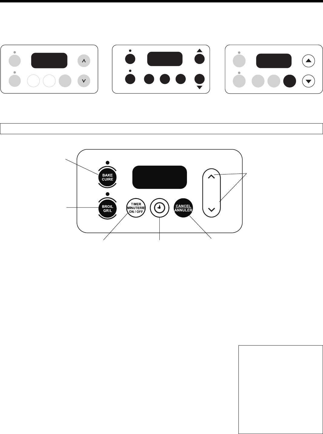 frigidaire electronic oven control guide