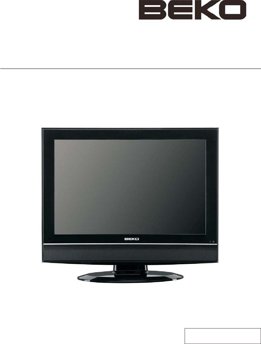 beko flat panel television 19wlm550dhid user guide. Black Bedroom Furniture Sets. Home Design Ideas
