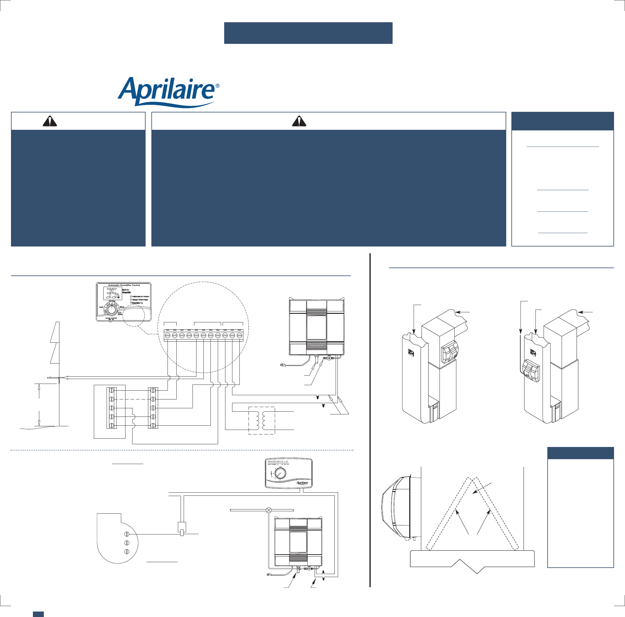 [DIAGRAM_5FD]  Aprilaire Humidifier 700 User Guide | ManualsOnline.com | Aprilaire Model 600 Wiring Diagram |  | Appliance Manuals - ManualsOnline.com