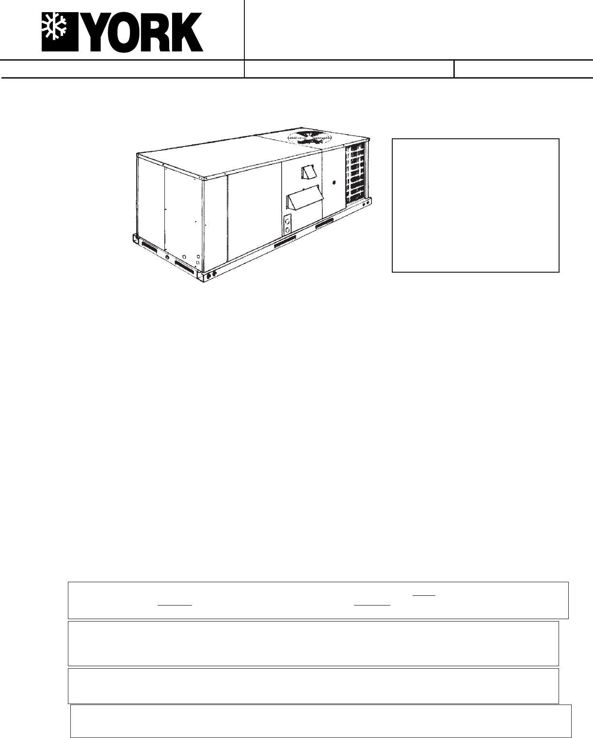 york air conditioner d2eg 060 user guide manualsonline com
