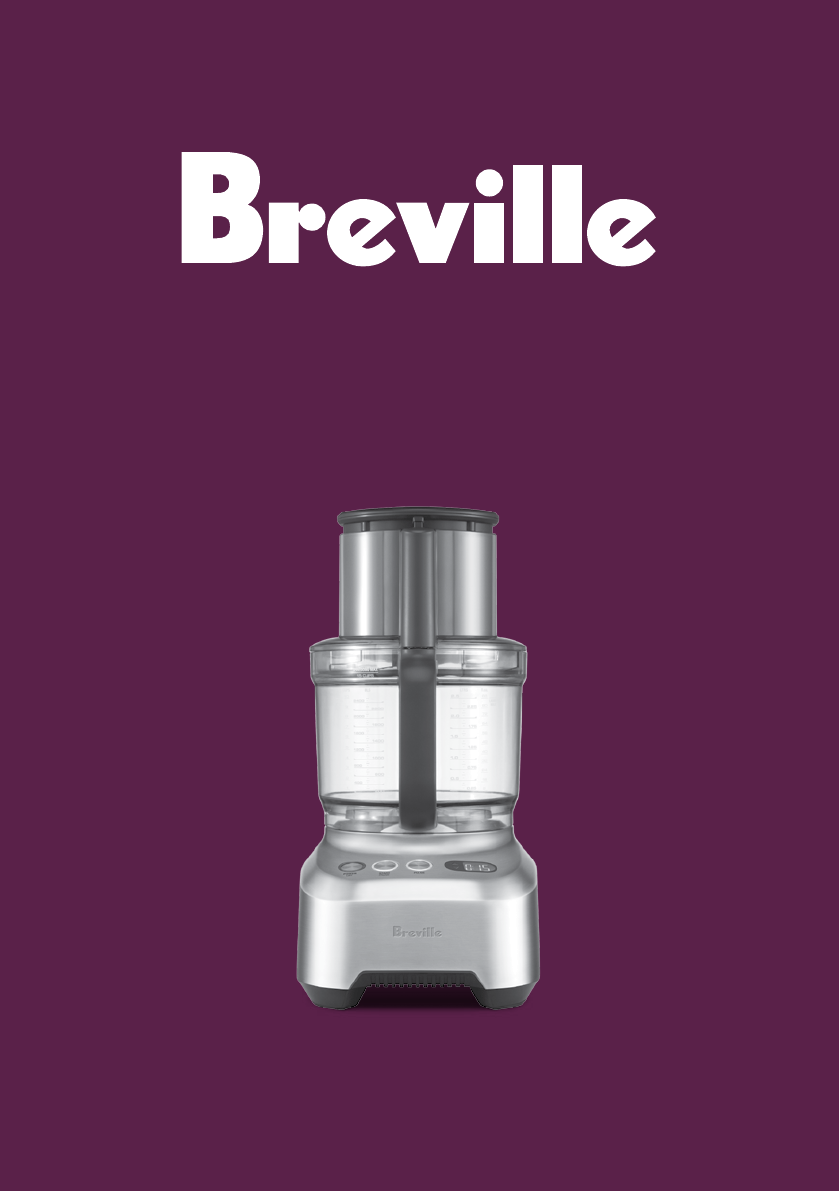 breville food processor bfp800 manual