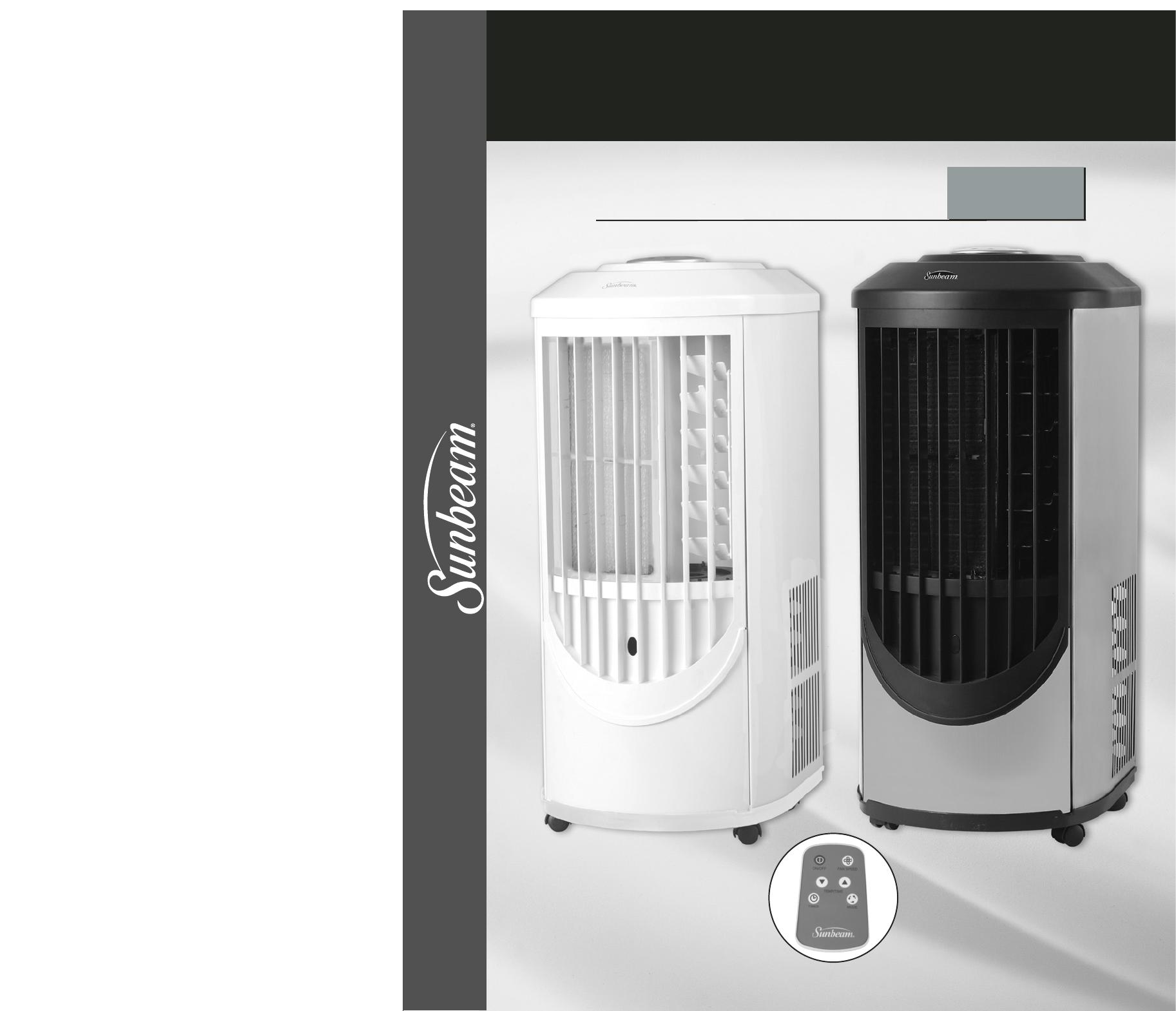 Sunbeam air conditioner y user guide for Manual aire acondicionado