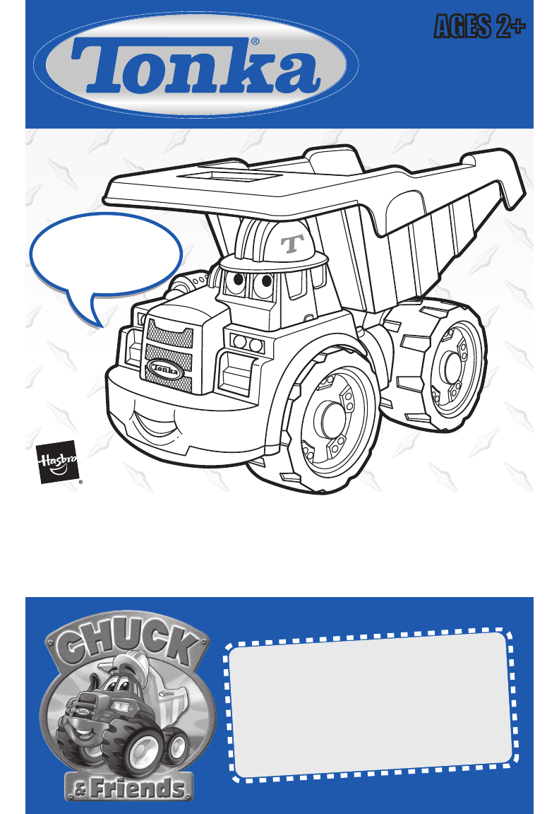 chuck my talking truck instructions