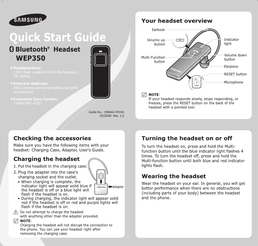 how to reset bluetooth headset