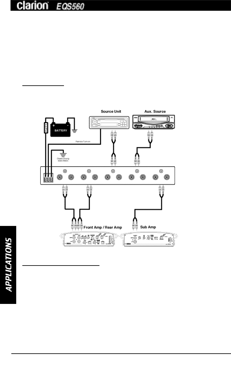 page 4 of clarion stereo equalizer eqs560 user guide manualsonline com rh audio manualsonline com clarion eq wiring diagram Car Stereo Wiring Diagram