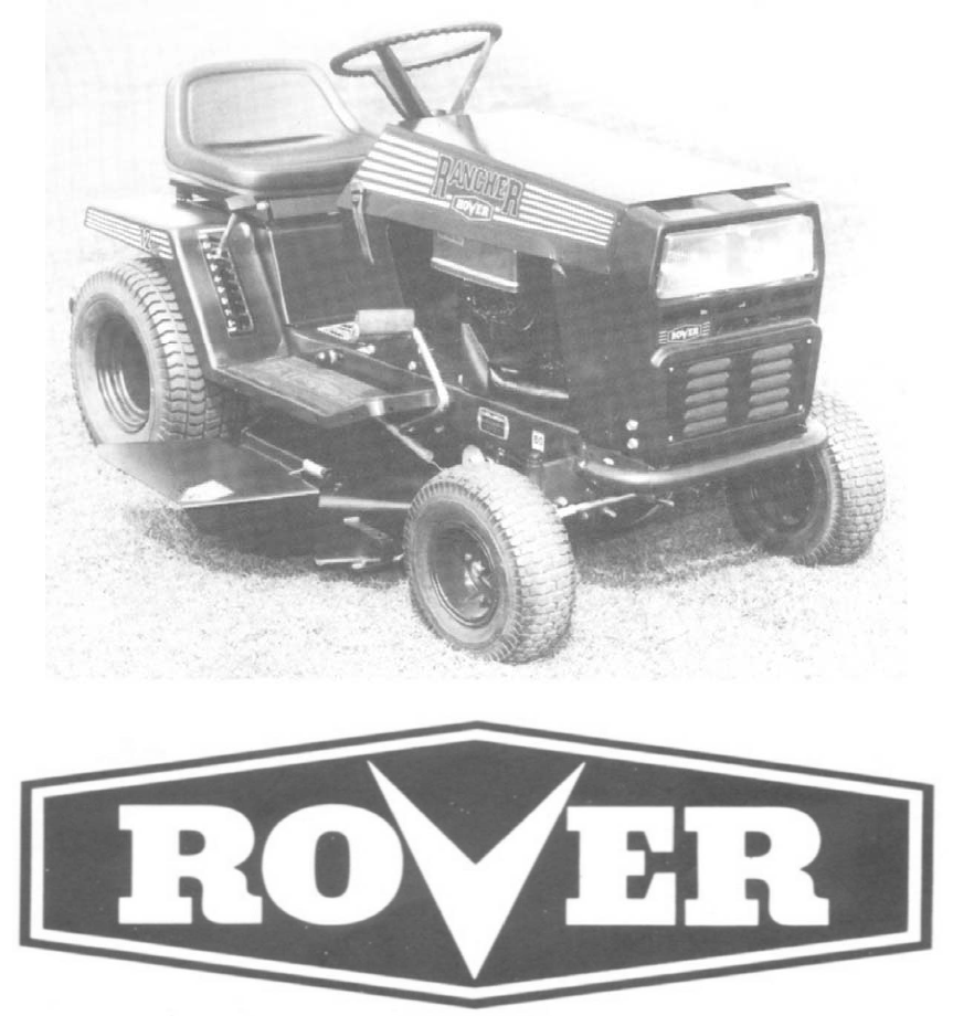 rover lawn mower 1766 user guide manualsonline com rh lawnandgarden manualsonline com Push Mower rover rancher ride on mower parts