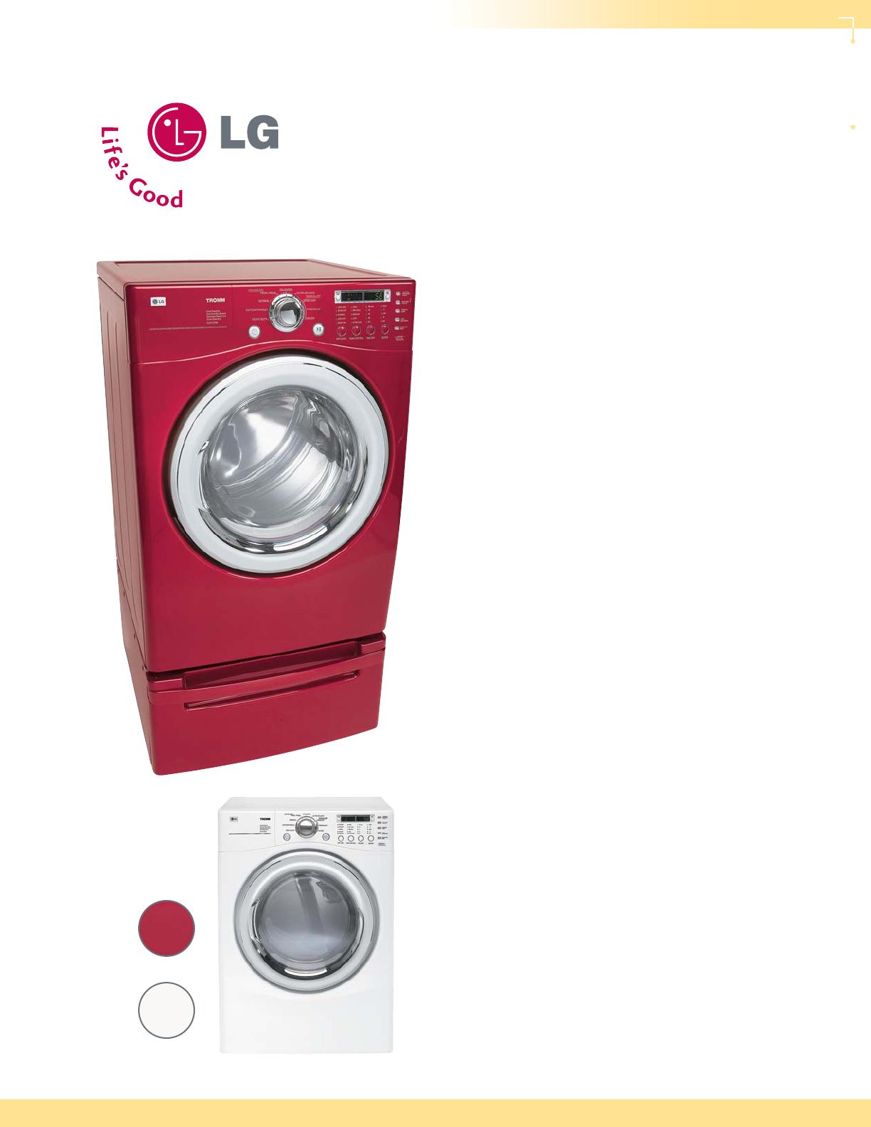 lg electronics clothes dryer dle7177 user guide. Black Bedroom Furniture Sets. Home Design Ideas