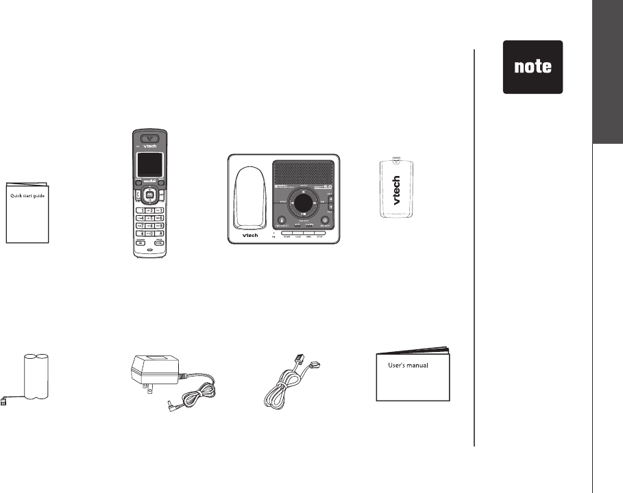 Page 5 Of Vtech Answering Machine Ds6121 User Guide Manual Guide