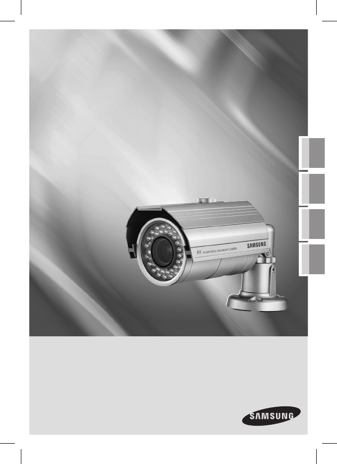 Samsung Security Camera SCC B9371 User Guide