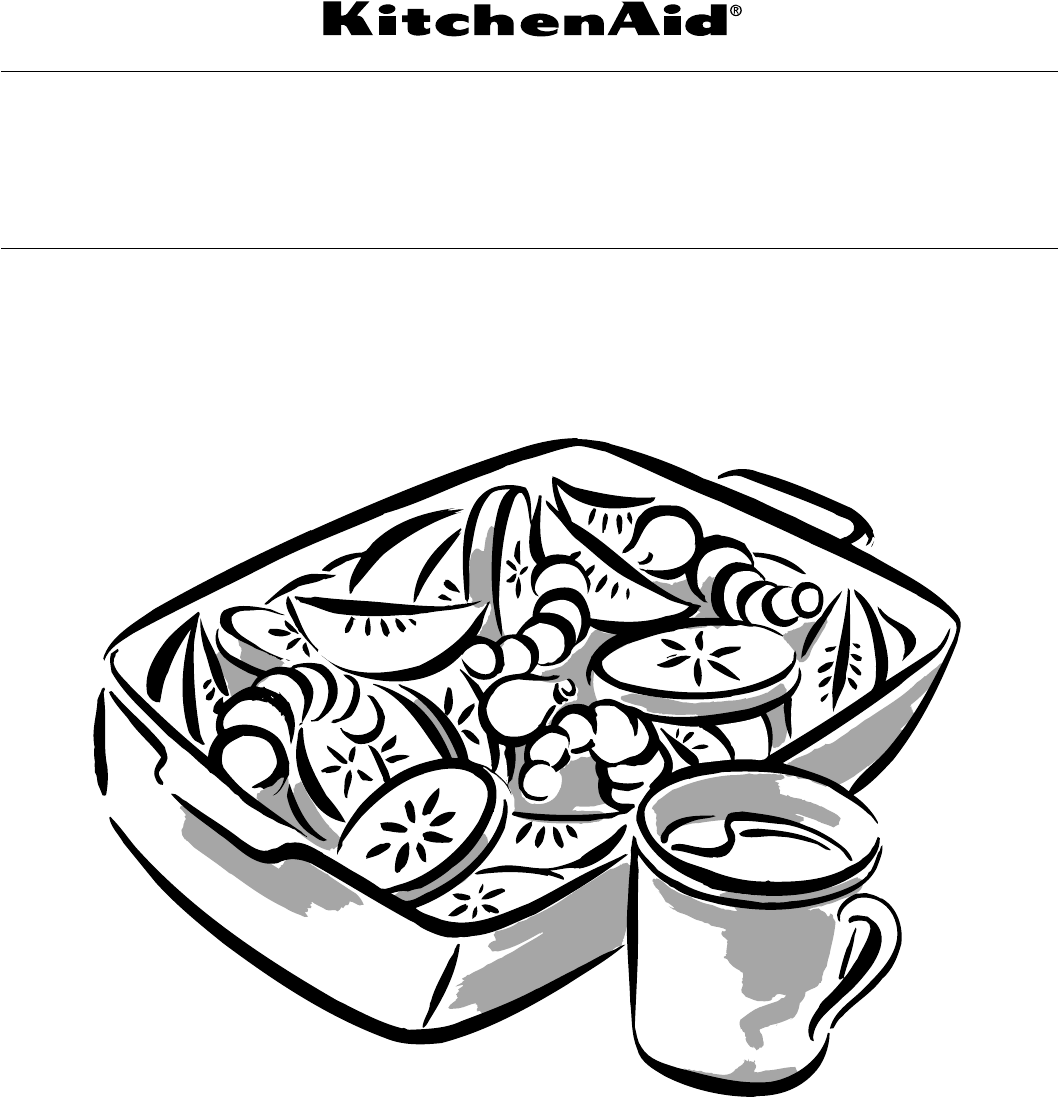 KitchenAid Microwave Oven KCMS1555R User Guide