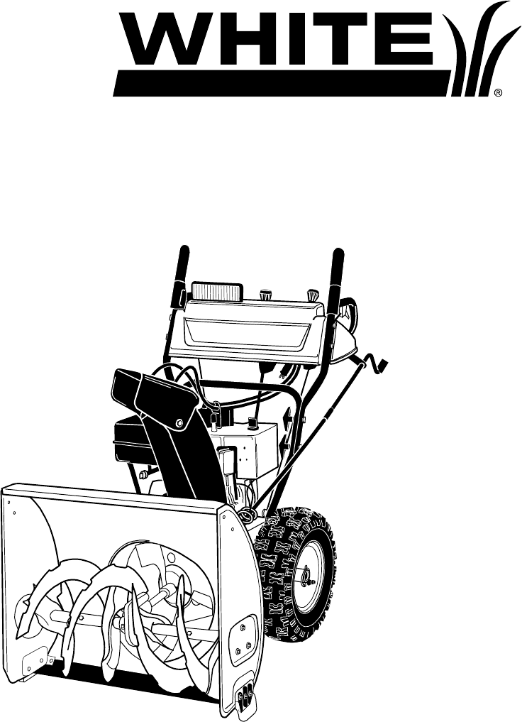 White Snow Blower Replacement Parts : Two stage snowblower diagram imageresizertool