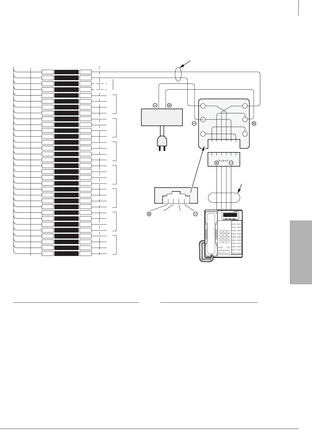 page 381 of toshiba telephone ctx28 user guide manualsonline com mdf pcb wiring station wiring diagrams