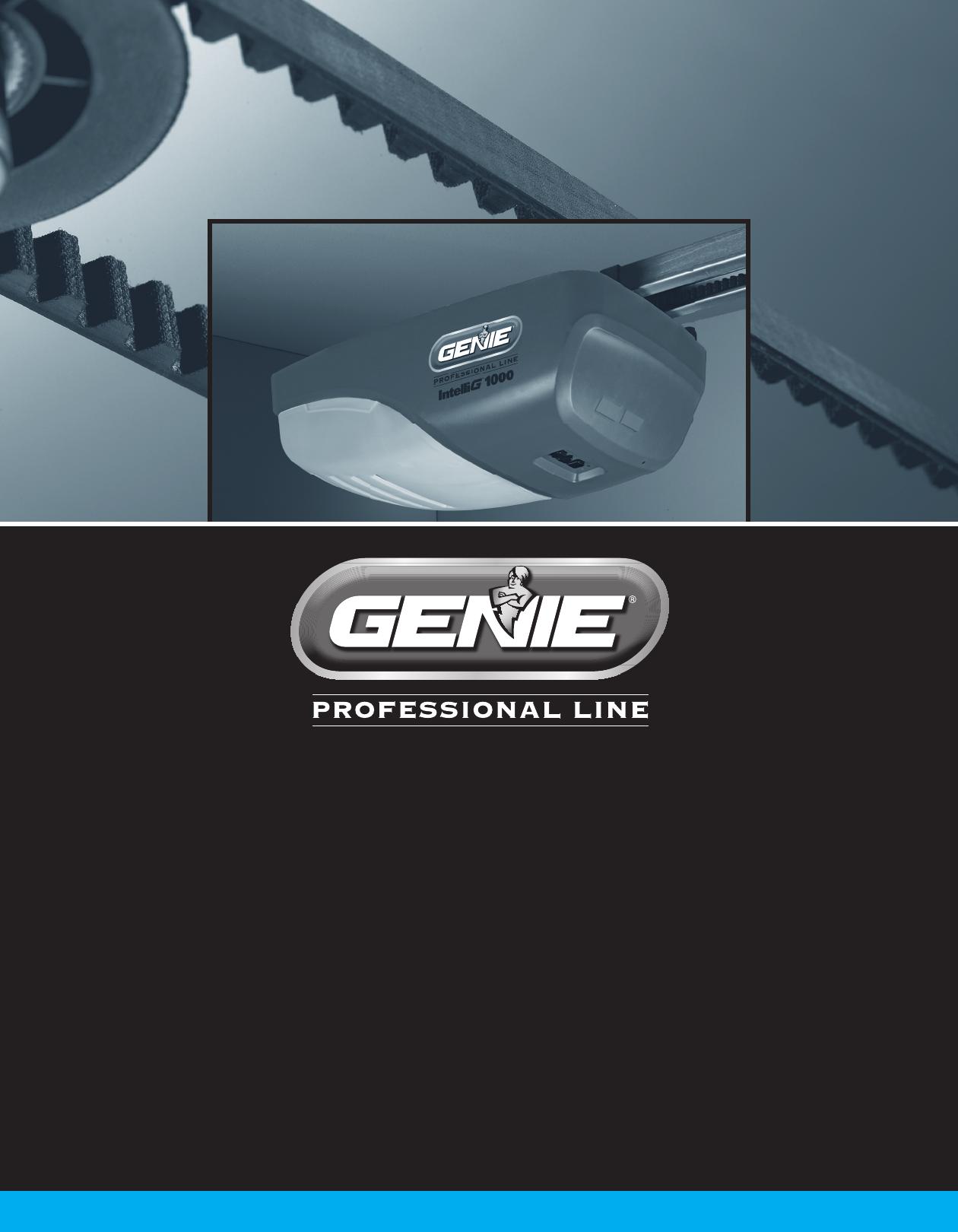 Genie Garage Door Opener 3024 User Guide Manualsonline Com
