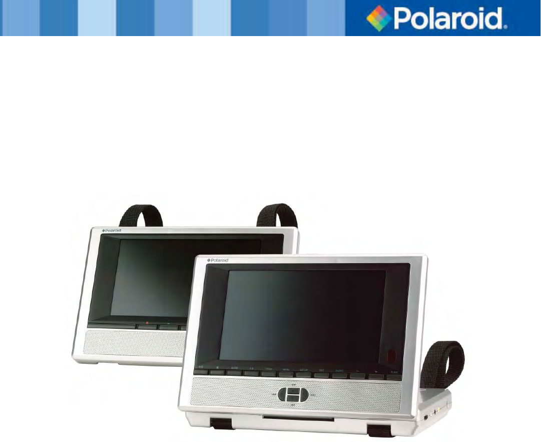 polaroid portable dvd player pdu 2728 user guide. Black Bedroom Furniture Sets. Home Design Ideas