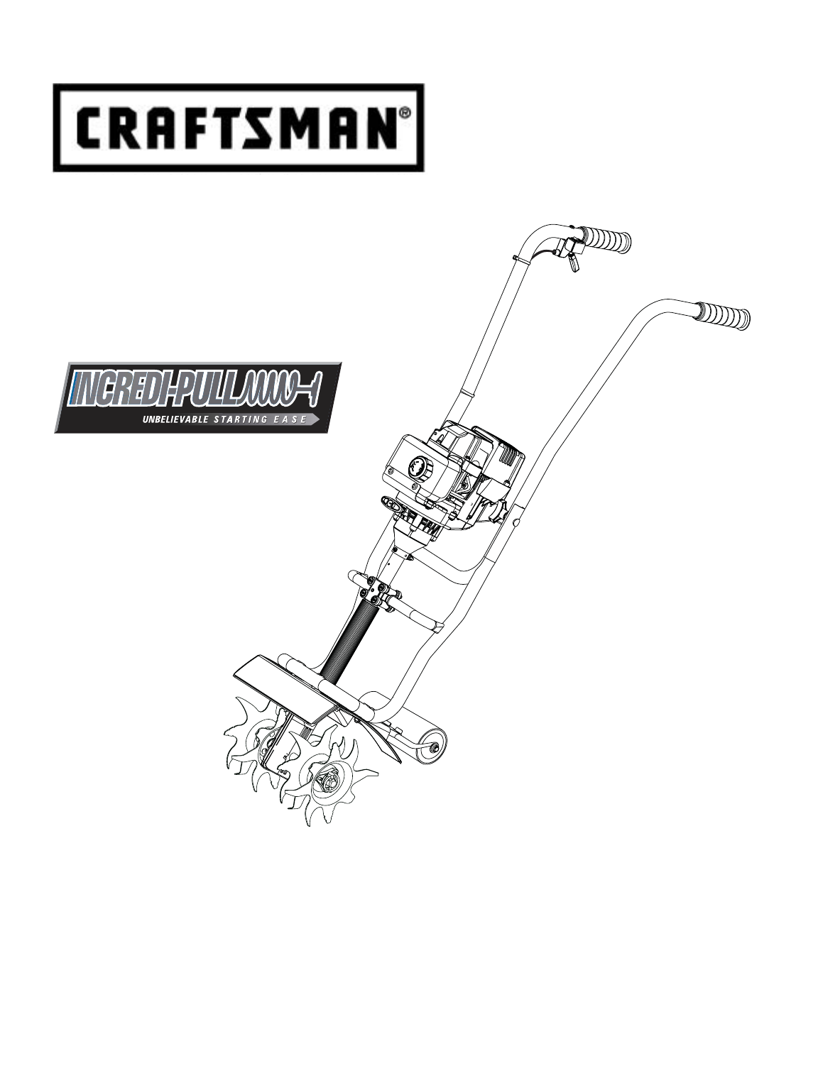 Craftsman Cultivator 31629256 User Guide ManualsOnlinecom