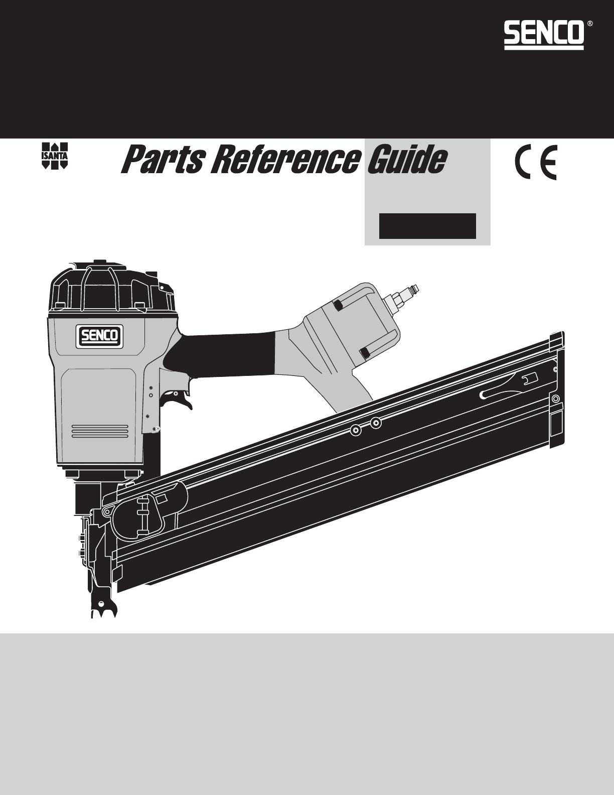 Senco Nail Gun FramePro 602 User Guide   ManualsOnline.com