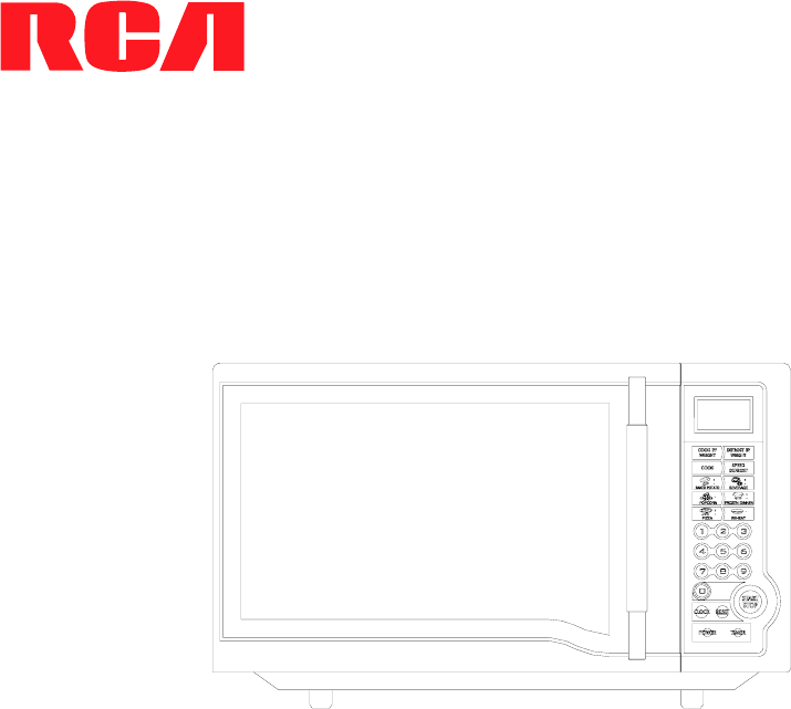 rca microwave oven rmw948 user guide. Black Bedroom Furniture Sets. Home Design Ideas
