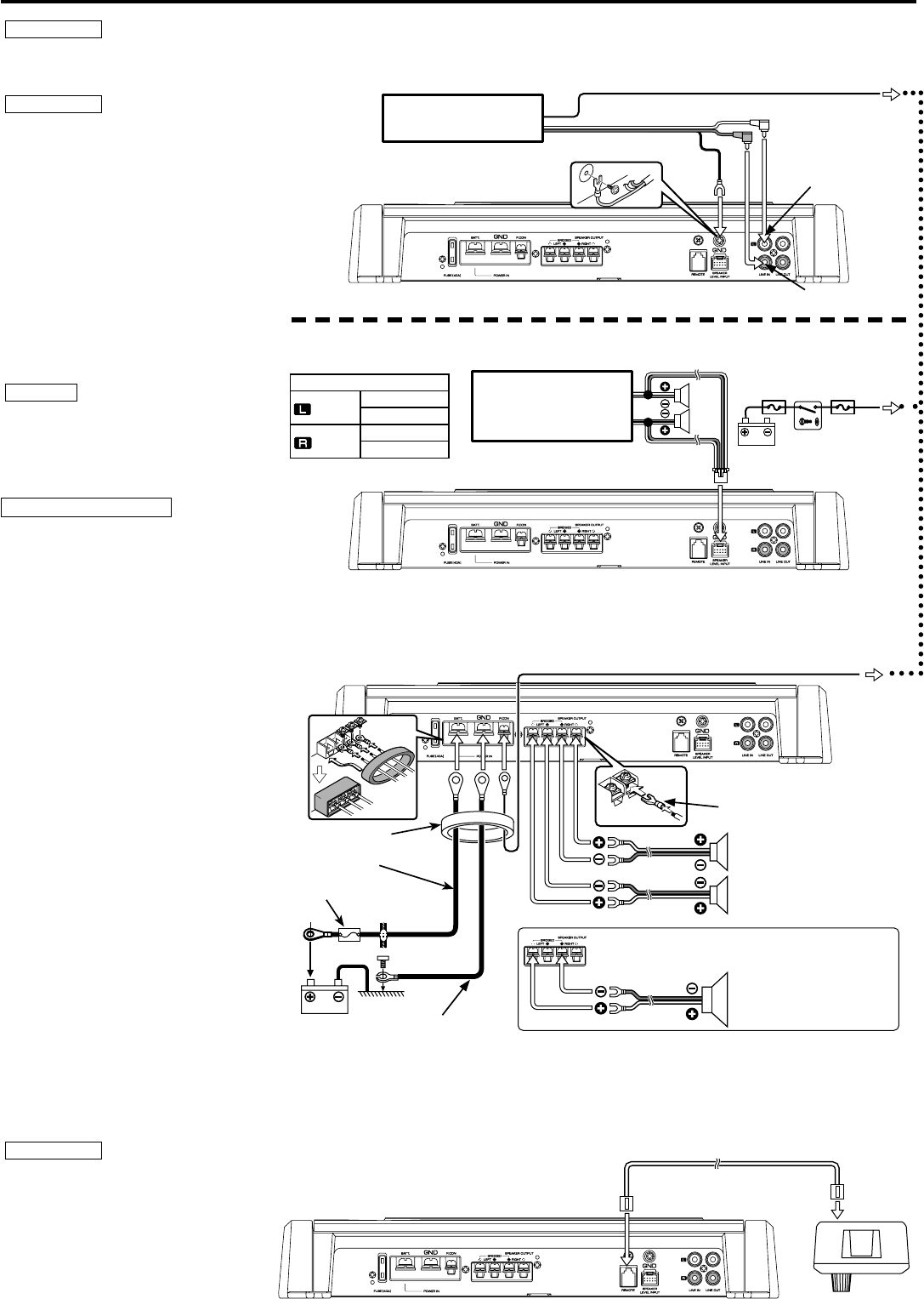wiring diagram for kenwood kdc hd545u wiring image page 4 of kenwood stereo amplifier kac 7252 user guide on wiring diagram for kenwood kdc