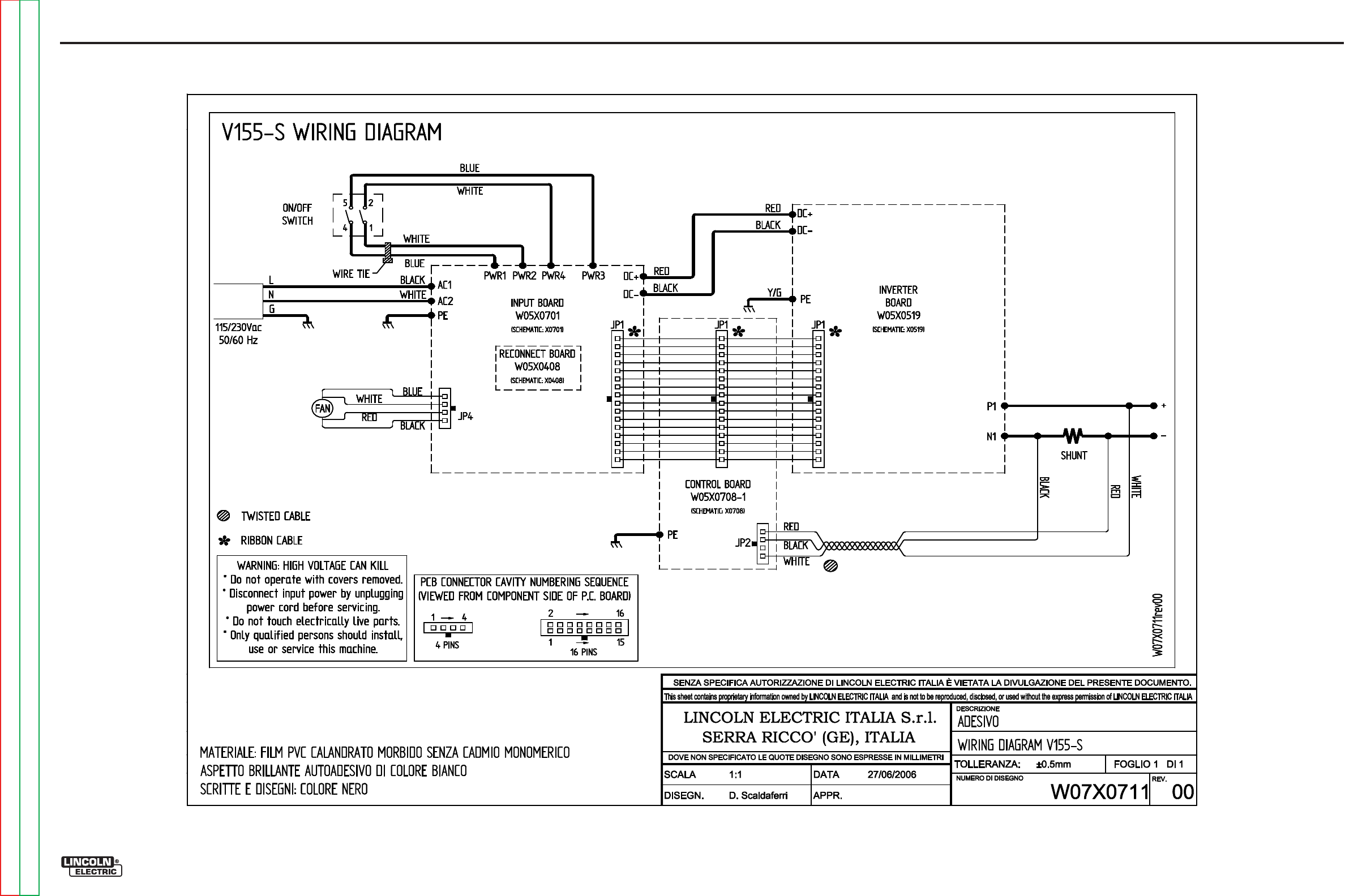 lincoln electric wiring diagram lincoln printable wiring page 68 of lincoln electric portable generator v155 s user guide source