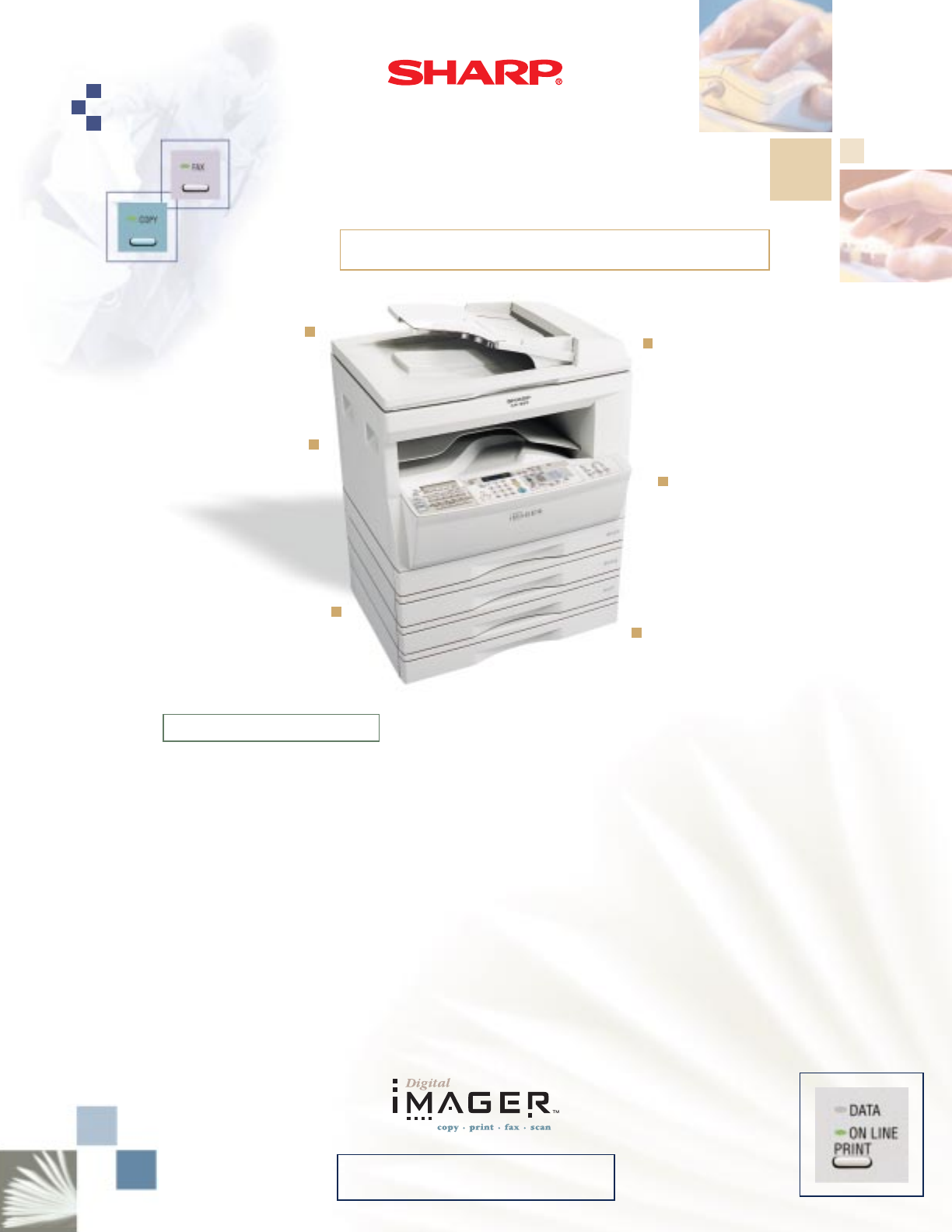sharp all in one printer ar