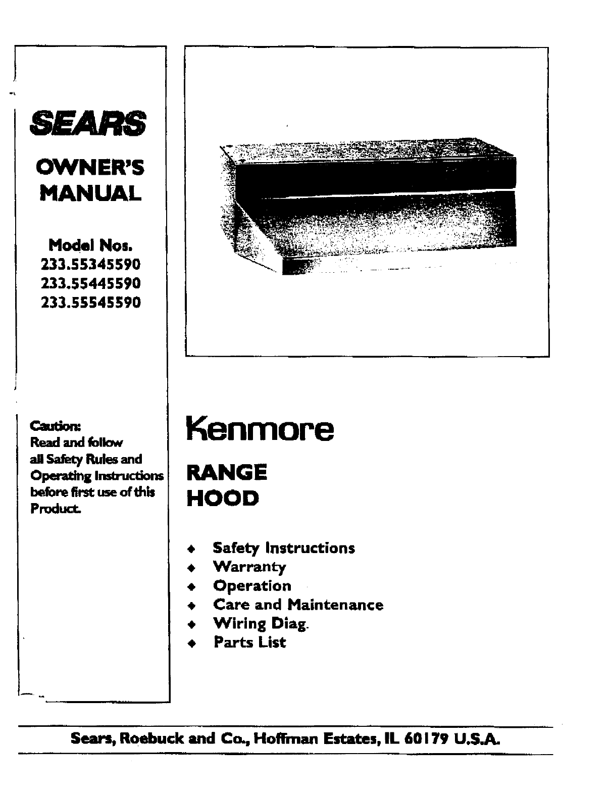 old sears battery charger manuals