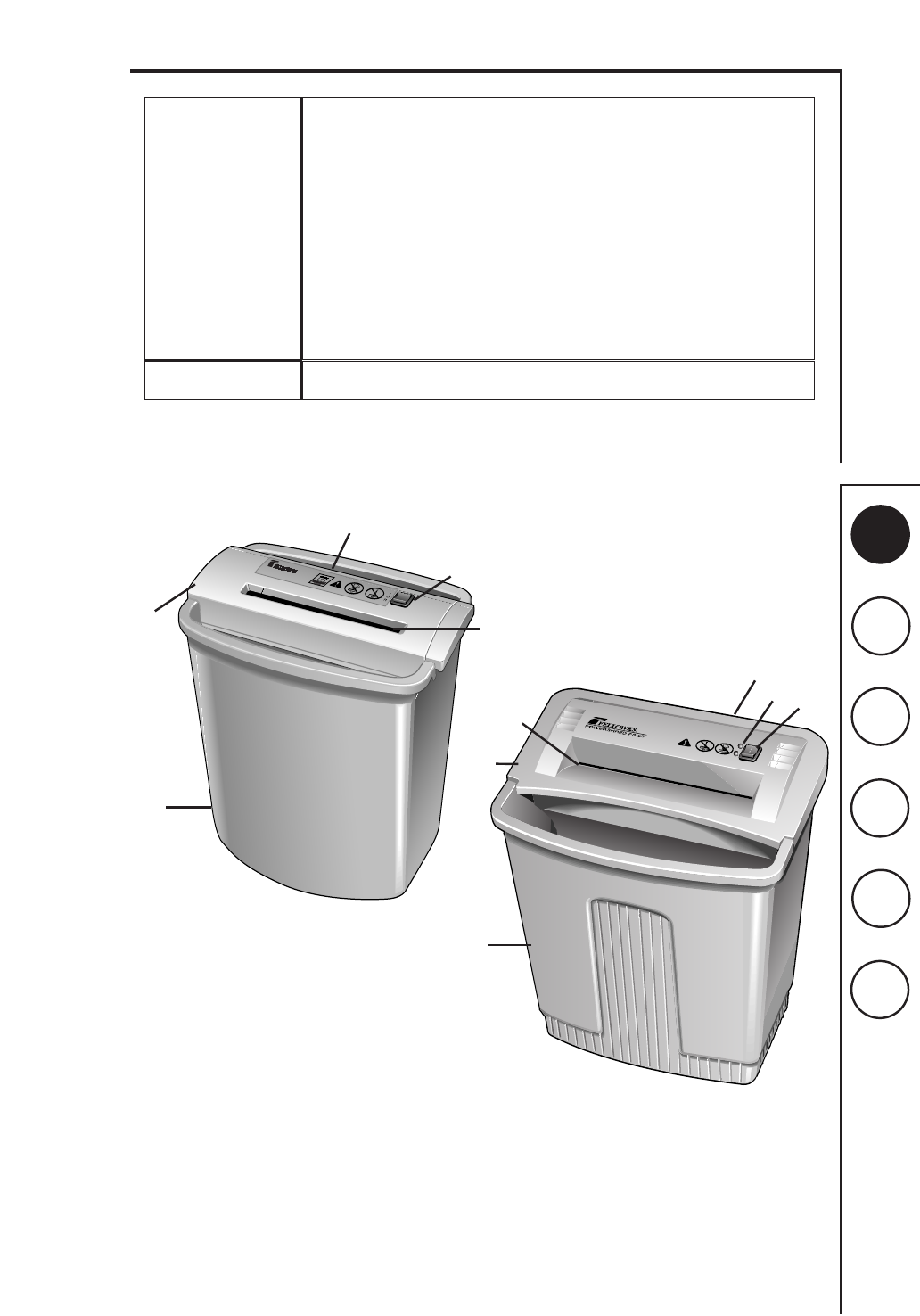 Shredder Replacement Parts : Fellowes paper shredder repair parts diagram pictures to